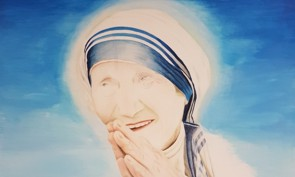 Click for Mother Teresa portrait page